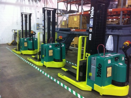 Meyn's Refurbished Yale Walkie Stackers by Atlanta Forklift